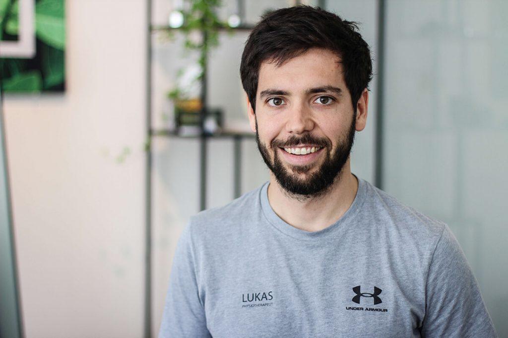 Lukas Jirsa Physiotherapeut bei Therapie Salzburg